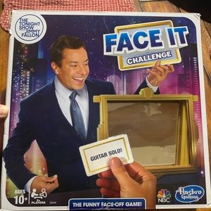 Tonight Show Jimmy Fallon Face It Challenge Game